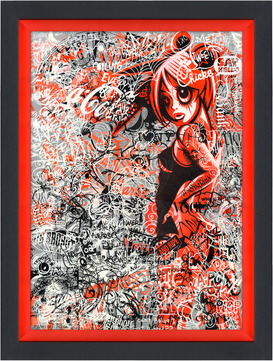 Urban art contemporary pop art prints originals by rourke van dal urban graffiti uk art gallery